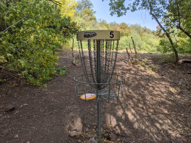Hole 5 Basket
