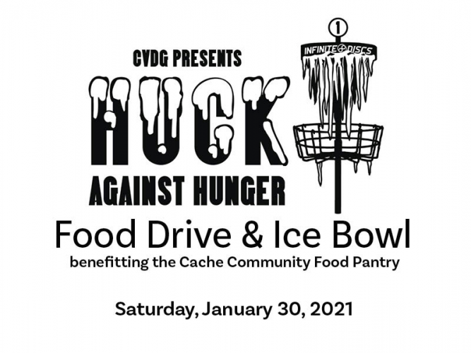 Cache Valley Disc Golf Donates More than 1000 pounds of Food to Food Pantry